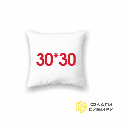 Подушка на заказ 30х30 см