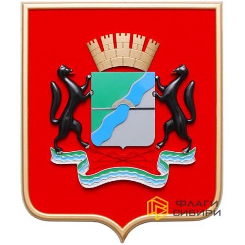 Геральдический щит, краска, 42x50 см