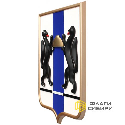 Геральдический щит, пластик/мдф, 42x50 см