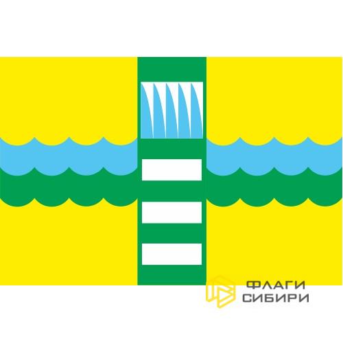 Флаг Саяногорска