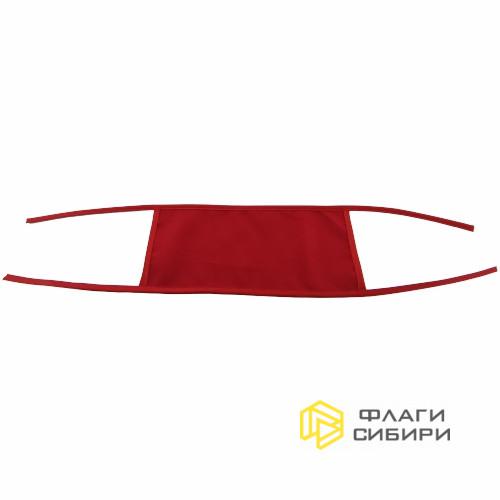 Нарукавная повязка 10х25см, односторонняя, габардин