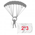 Флаг на заказ 200*300см, для парашютистов вертолета