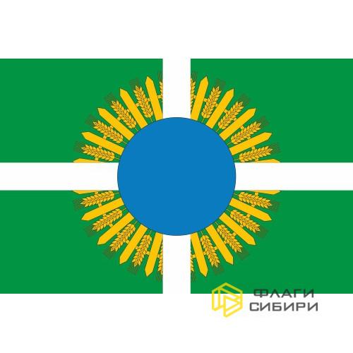 Флаг Шербакульского района Омской области