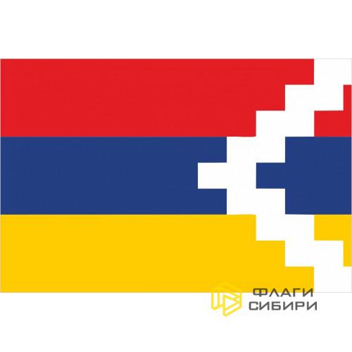 Флаг НКР (Нагорно-Карабахской Республики)