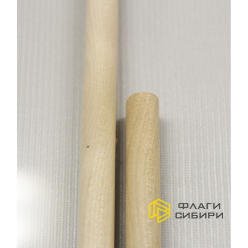 Деревянное древко 1*50 см, шлифованное