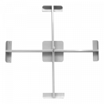 Крестовина под четыре плиты 85*85см