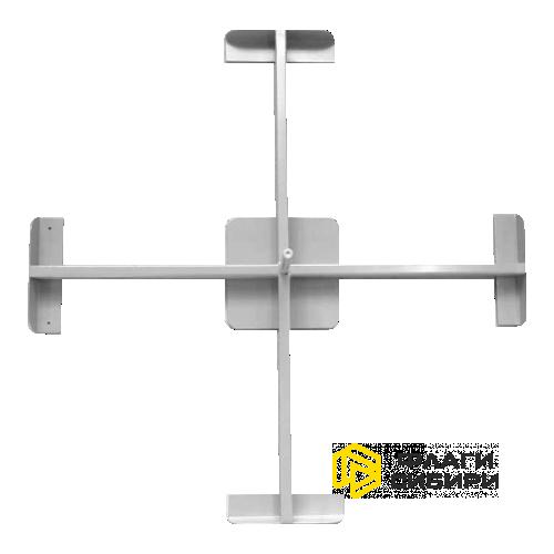 Крестовина под четыре плиты 85*85см, 6 кг