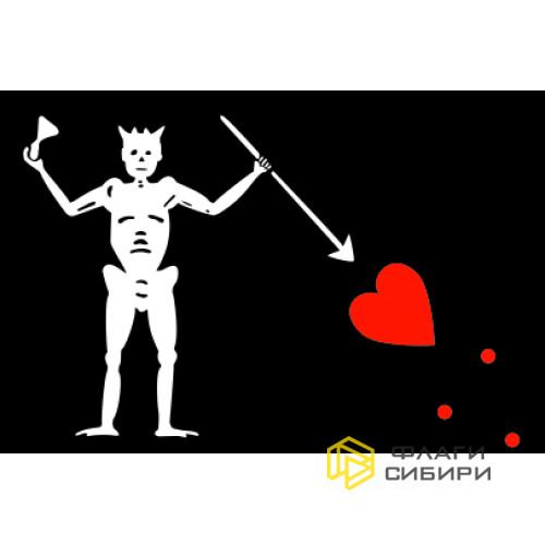 Пиратский флаг №13 (Пират Эдвард Тич)