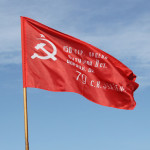 Флаг Победы 82*188 см