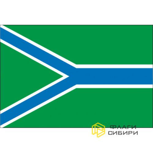 Флаг Усть-Таркского района