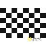 Флаг Финишный (Стартовый), 70х105, черная клетка