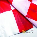 Флаг Финишный (Стартовый), 70*105, красная клетка