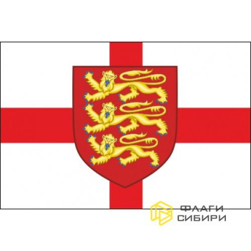 Флаг Англии с Гербом №1
