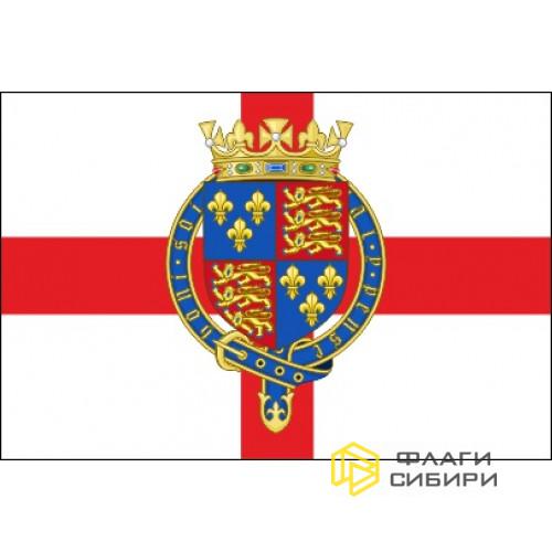 Флаг Англии с Гербом №2