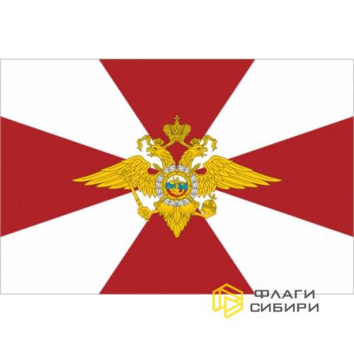 Флаг ВВ МВД РФ (Росгвардия, Внутренние войска Министерства внутренних дел Российской Федерации)