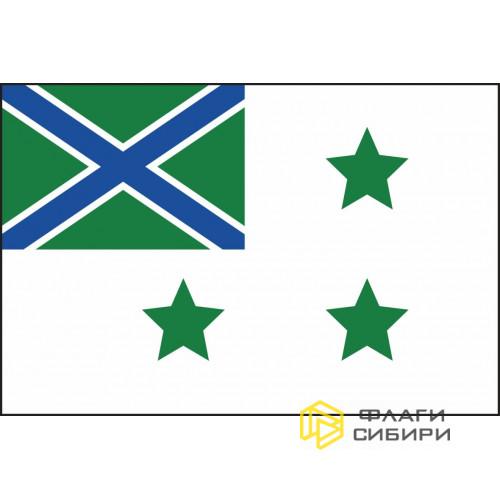 Флаг Департамента береговой охраны Пограничной службы РФ