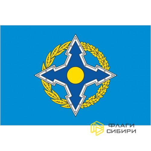 Флаг ОДКБ (Организация Договора о коллективной безопасности)