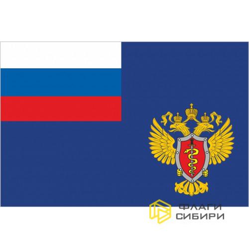 Флаг ФСКН (Федеральная служба по контролю за оборотом наркотиков)